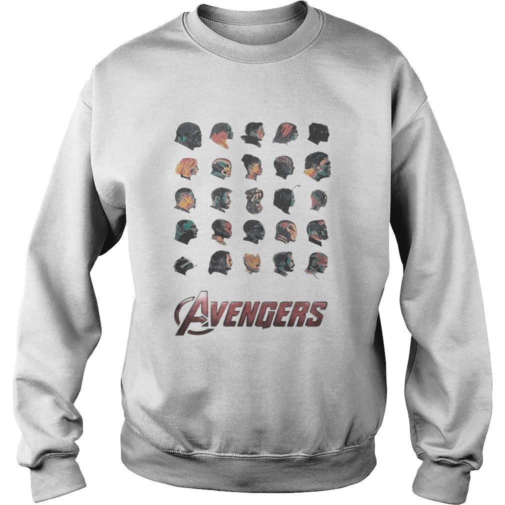 Avenger face Sweatshirt