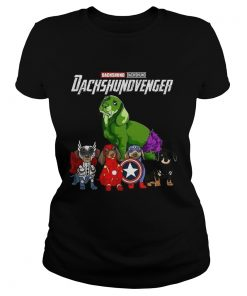 Avengers Endgame Dachshund Dachshundvenger  Classic Ladies