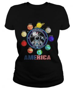 Awesome 50th Anniversary Moon Landing Apollo 11 Astronaut Walk First Step On The Moon  Classic Ladies