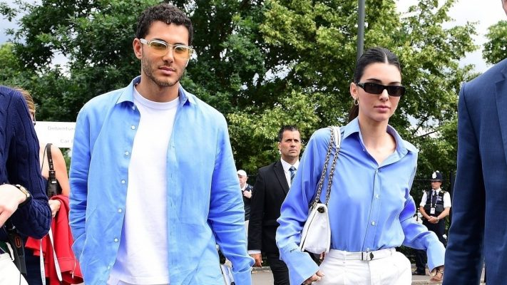 Who Is Kendall Jenner's Matching Mystery Man at Wimbledon?