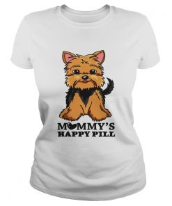 Brown Black Yorkie Mommys Happy Pill  Classic Ladies