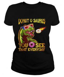 Cool Dinosaur Donut O Saurus Flying Donut Meteor  Classic Ladies