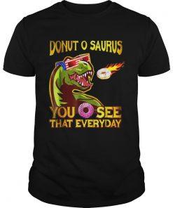 Cool Dinosaur Donut O Saurus Flying Donut Meteor  Unisex