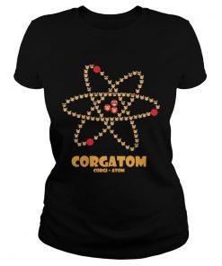 Corgatom Corgi and Atom  Classic Ladies