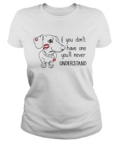 Dachshund if you dont have one youll never understand  Classic Ladies
