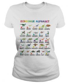 Dinosaur alphabet  Classic Ladies