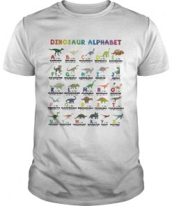 Dinosaur alphabet  Unisex