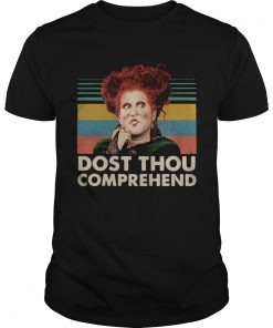 Dostthou comprehend Hocus Pocus Halloween retro  Unisex
