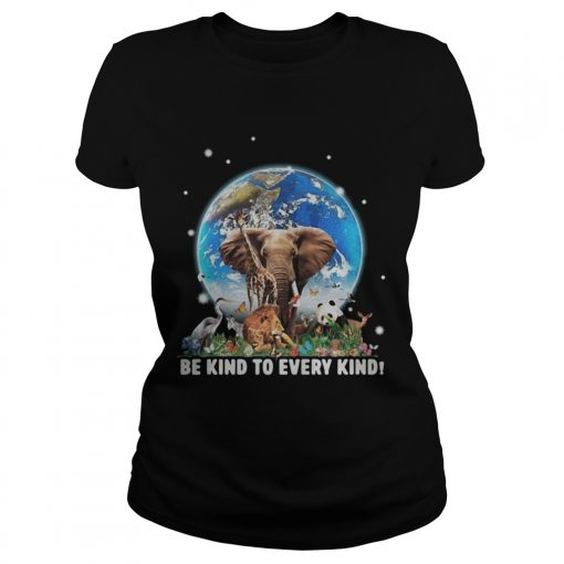Elephant and other animals in the world be kind to every kind  Classic Ladies