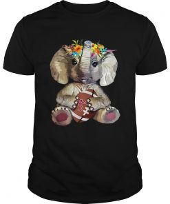 Elephant hugging Alabama Crimson Tide  Unisex