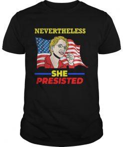 Elizabeth Warren Pocahontas Nevertheless she persisted  Unisex