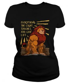Everything the light touches you can lift Mufasa Gymer  Classic Ladies