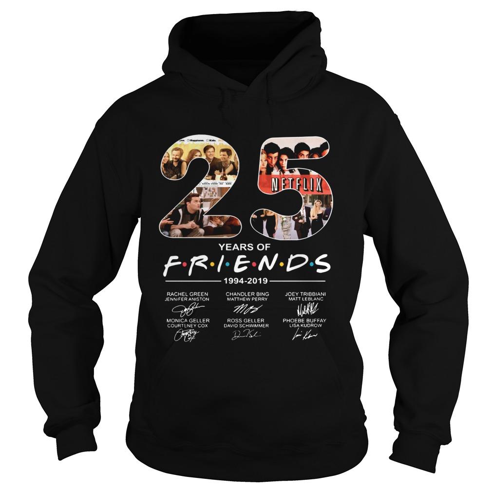 Friends Film 25th Anniversary 19942019 Hoodie