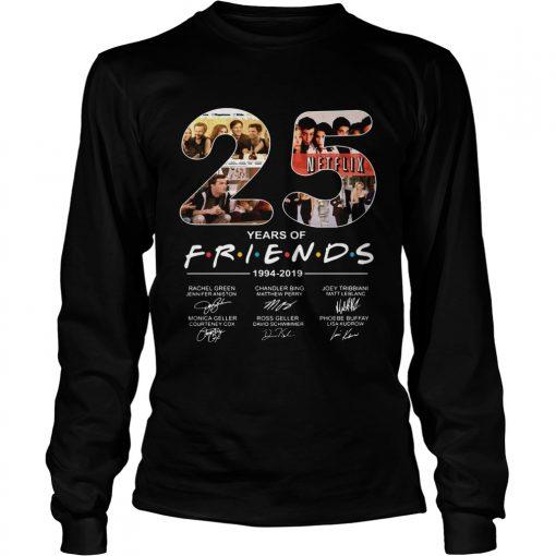 Friends Film 25th Anniversary 19942019  LongSleeve