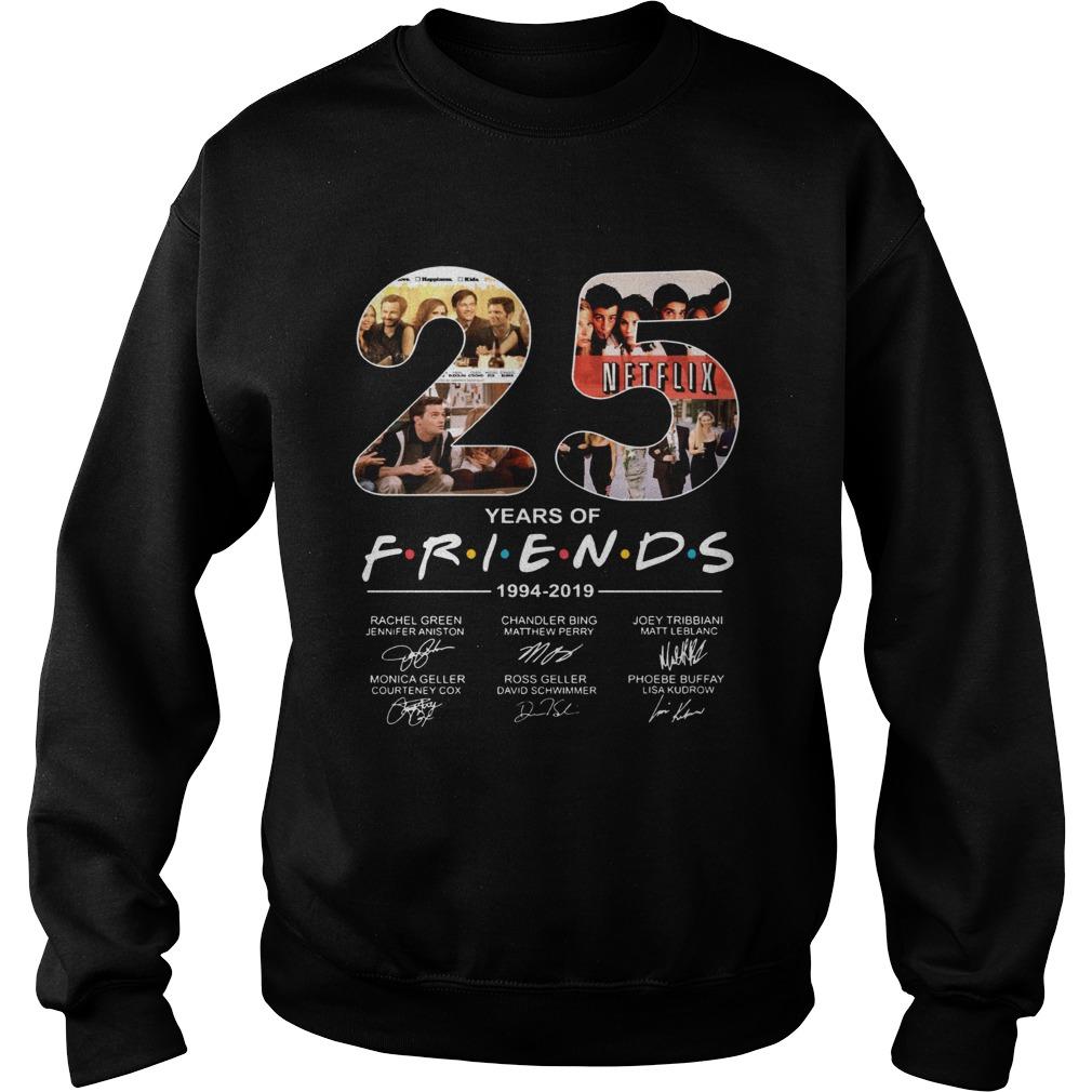 Friends Film 25th Anniversary 19942019 Sweatshirt