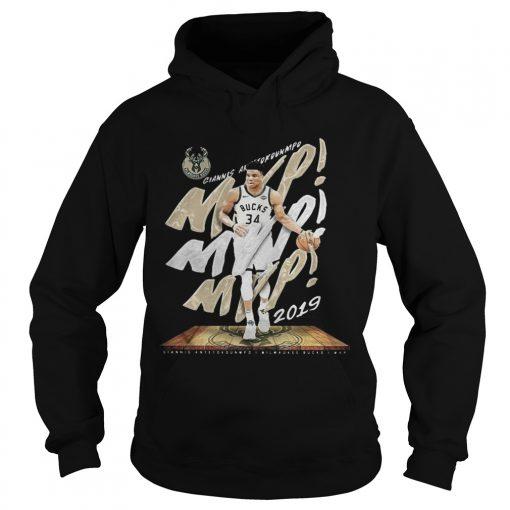 Giannis Antetokounmpo Mvp Milwaukee Bucks  Hoodie