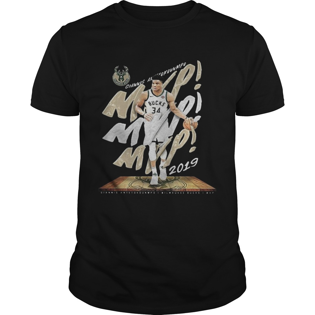 Giannis Antetokounmpo Mvp Milwaukee Bucks Unisex