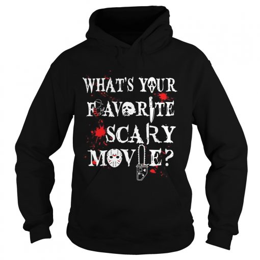 Halloween Ghostface whats your favorite scary movie  Hoodie