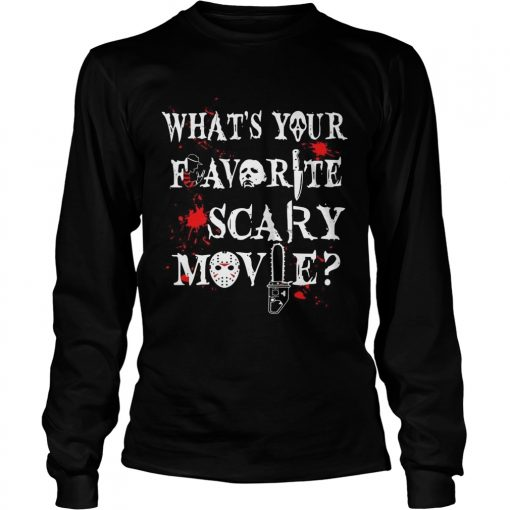 Halloween Ghostface whats your favorite scary movie  LongSleeve