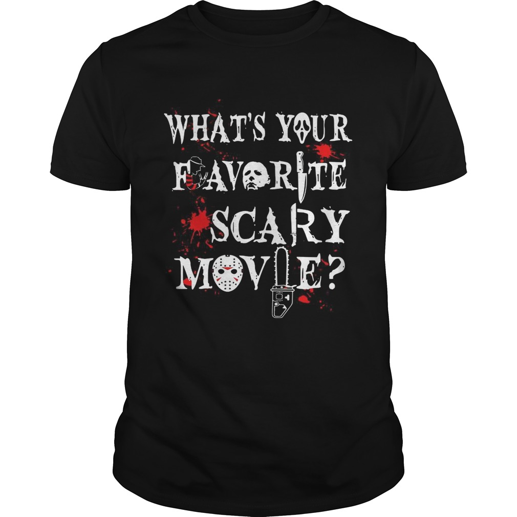 Halloween Ghostface whats your favorite scary movie Unisex