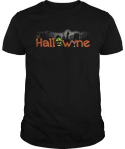HallowineHalloween Wine cemetery  Unisex