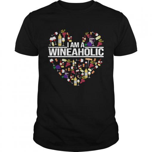 I am a Wineaholic  Unisex