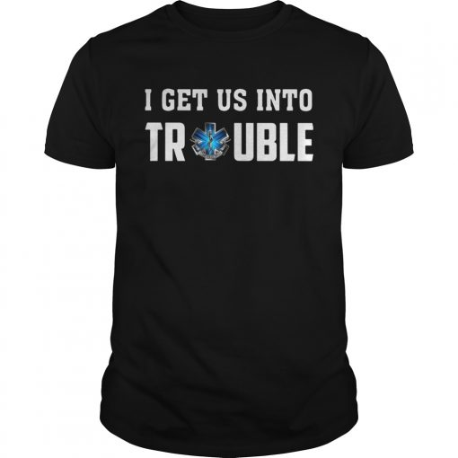 I get us into trouble on call for life blue snake  Unisex