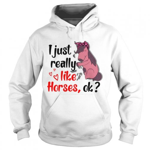 I just really like horses ok  Hoodie