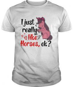 I just really like horses ok  Unisex