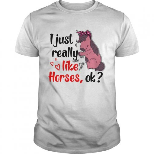 I just really like horses ok  Unisex