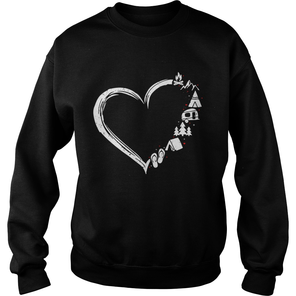 I love camping Sweatshirt
