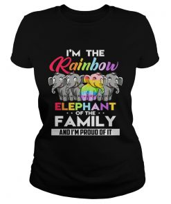 Im the rainbow elephant of the family and Im proud of it  Classic Ladies