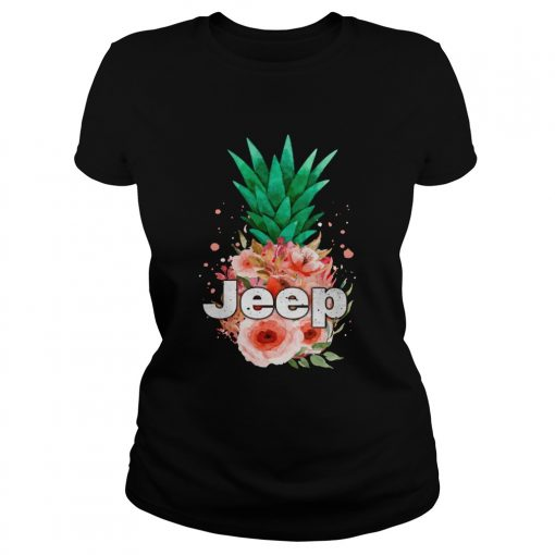 Jeep Pineapple flower  Classic Ladies