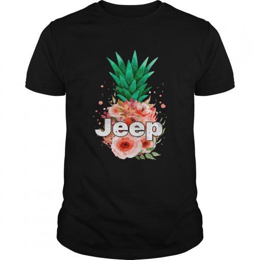 Jeep Pineapple flower  Unisex