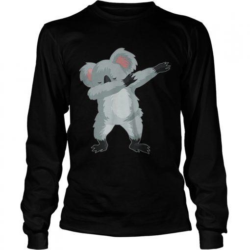 Koala Cute Dabbing Dab Dance  LongSleeve