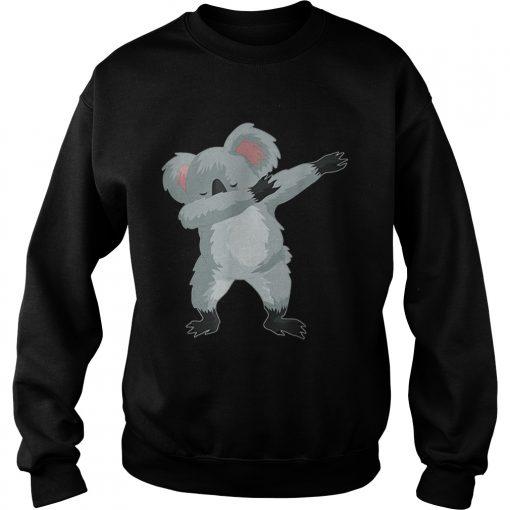Koala Cute Dabbing Dab Dance  Sweatshirt
