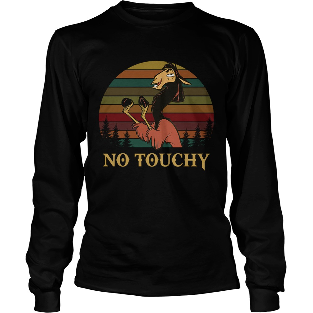 Kuzco in llama form no touchy The Emperors New Groove retro LongSleeve
