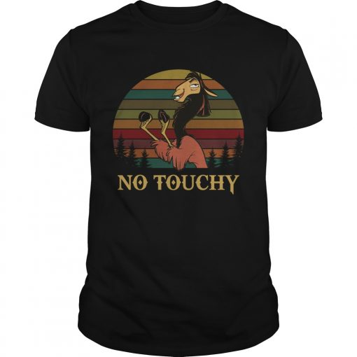 Kuzco in llama form no touchy The Emperors New Groove retro Unisex