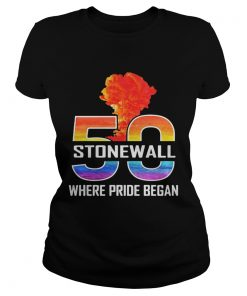 LGBT 50 Stone Wall where pride began  Classic Ladies