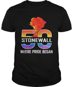 LGBT 50 Stone Wall where pride began  Unisex