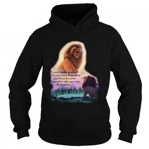 Look inside yourself you are more than what you have become The Hoodie