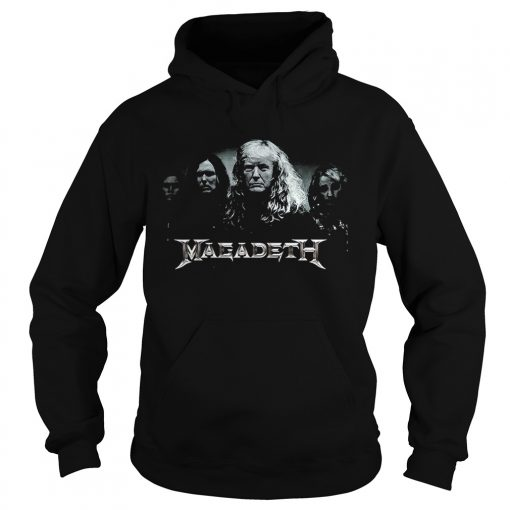 Megadeth Donald Trump  Hoodie