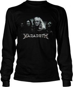 Megadeth Donald Trump  LongSleeve