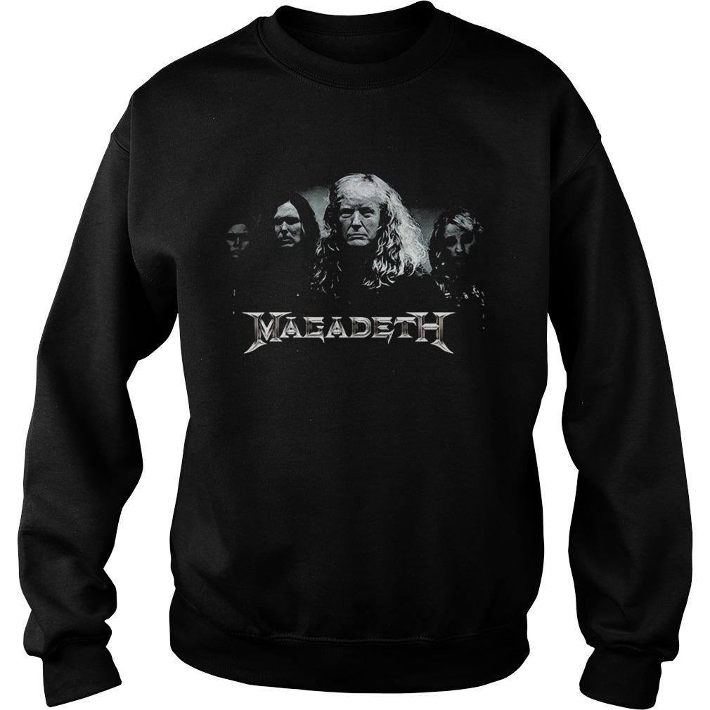 Megadeth Donald Trump Sweatshirt