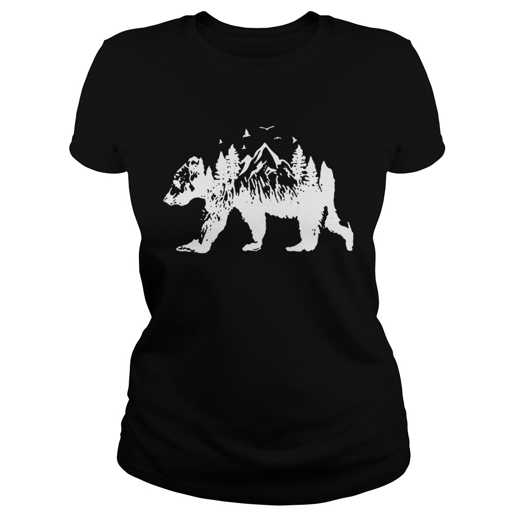 Mountains Bear Classic Ladies