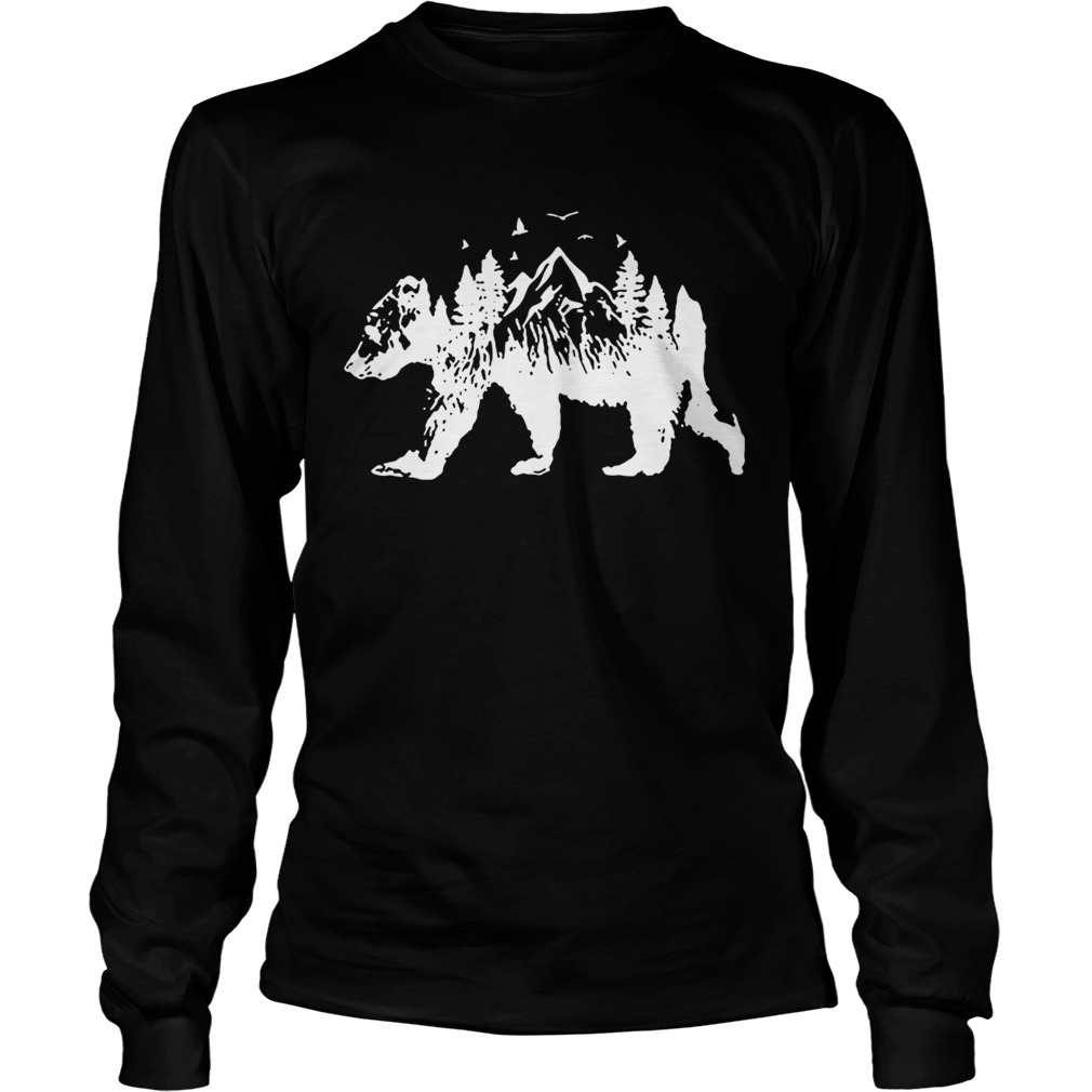 Mountains Bear LongSleeve