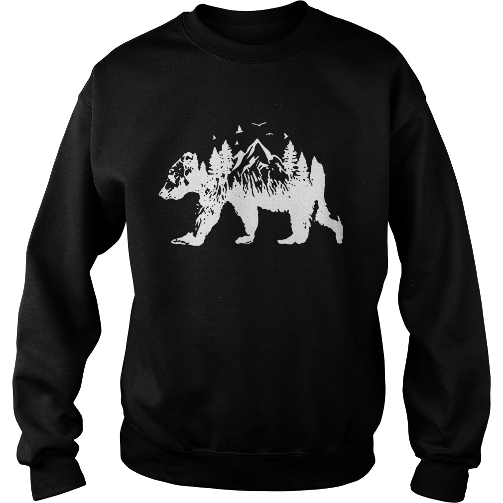 Mountains Bear Sweatshirt