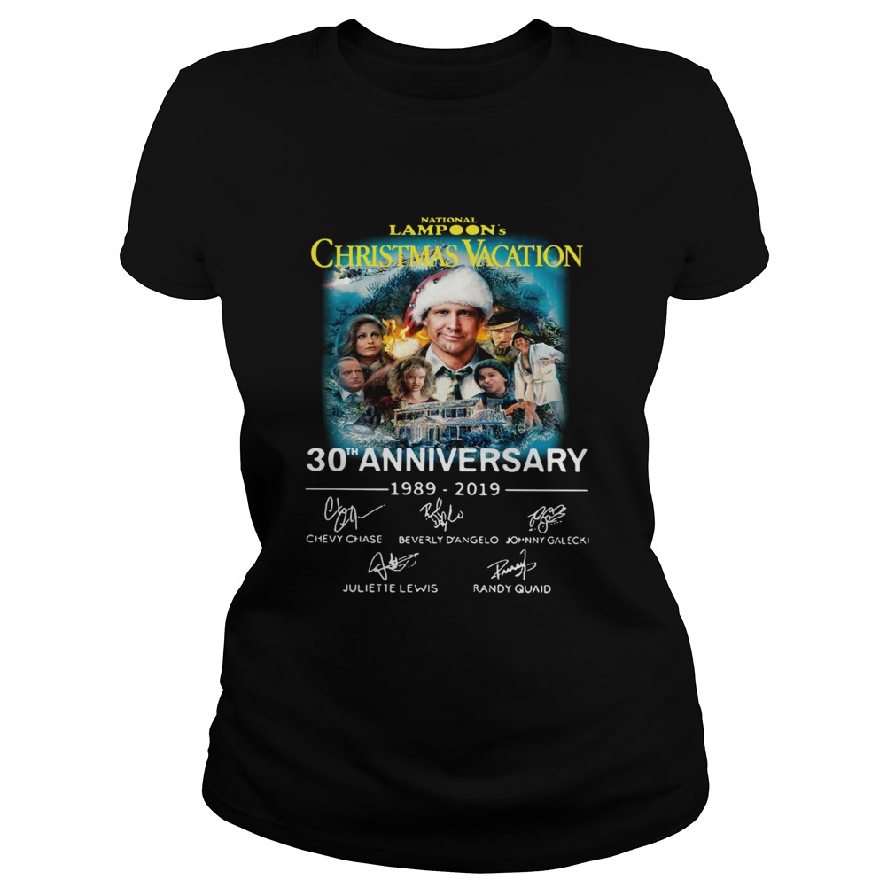 National Lampoons Christmas Vacation 30th Anniversary 19892019 Classic Ladies