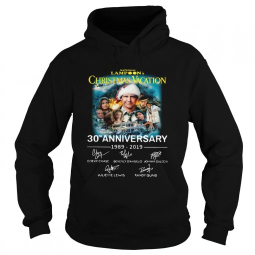 National Lampoons Christmas Vacation 30th Anniversary 19892019  Hoodie