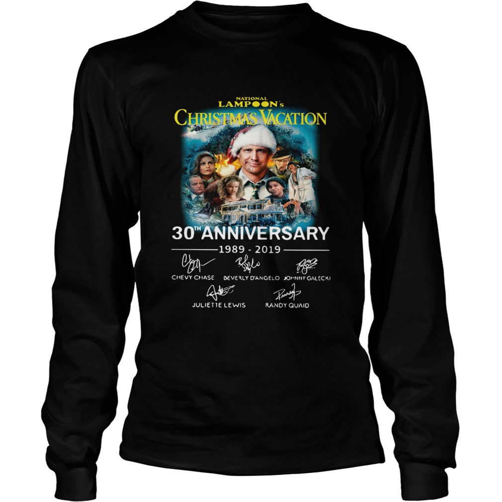 National Lampoons Christmas Vacation 30th Anniversary 19892019 LongSleeve